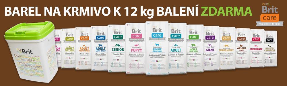 Brit Care 12 kg + BAREL ZDARMA