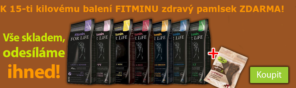 Fitmin For Life+pamlsek