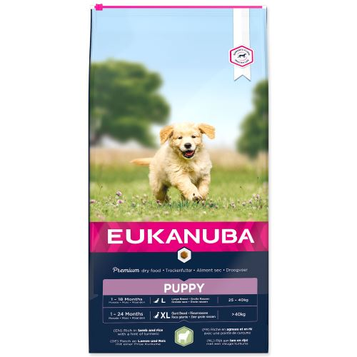 EUKANUBA Puppy & Junior Lamb & Rice 12kg