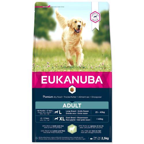 EUKANUBA Adult Large Breed Lamb & Rice 2,5kg