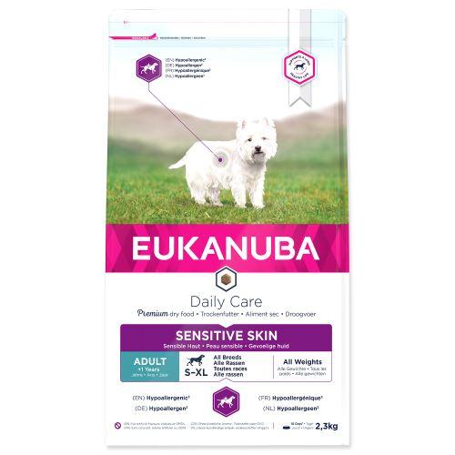 EUKANUBA Daily Care Sensitive Skin 2,3kg