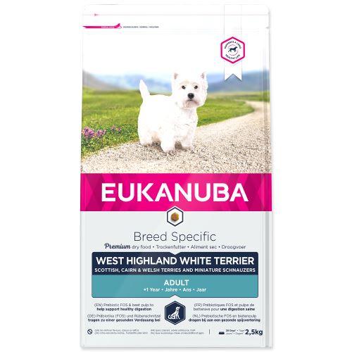 EUKANUBA West Highland a White Terrier 2,5kg