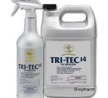 Farnam TRI-Tec 14 fly repellent spray 3,78l, na pastviny
