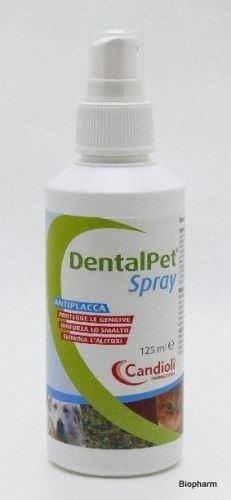 DentalPet Spray 125ml,čistící ústní spr pro psy a kočky