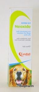 Neoxide 100ml, čištění uší u psů a koček
