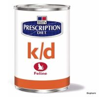 Hills Feline K/D Chicken - konzerva 156g