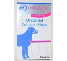 Orozyme žvýkací plátky 10ks L,pro psy nad 30kg
