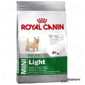 Royal Canin Mini Light 8kg,psi s nadváhou