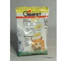 Gimpet kočka Tráva na trávení(semena) v EKO balení 100g