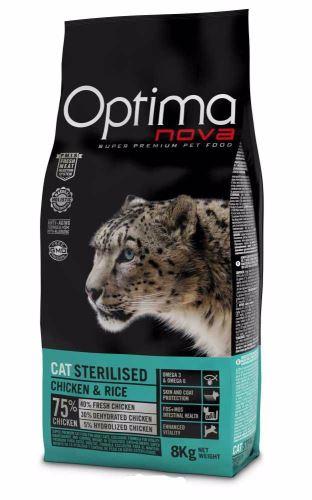 OPTIMAnova CAT STERILISED 8kg  PO REGISTRACI JEN 1018 KČ