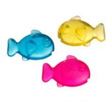 Hračka GOOD4FUN gumová rybička s Catnipem 5x4cm