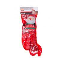 Vánoční hračky pro psa - ponožka 5ks