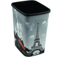 Odpadkový koš DECO FLIP BIN 25l Paříž