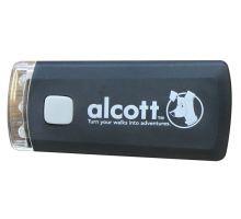 Alcott baterka na vodítko černá