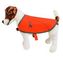Alcott reflexní vesta pro psy oranžová, velikost M