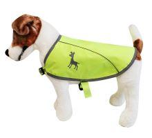 Alcott reflexní vesta pro psy žlutá, velikost S