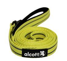 Alcott reflexní vodítko pro psy žluté, velikost S
